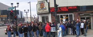 Everybody gathers at Goolsby's before or after sporting events and concerts at the Bradley Center, Milwaukee Theatre, US Cellular Arena, and the Midwest Airlines Center.